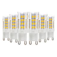 abordables Luces LED de Doble Pin-YWXLIGHT® 6pcs 4 W 300-400 lm E14 / G9 / G4 Luces LED de Doble Pin T 51 Cuentas LED SMD 2835 Blanco Cálido / Blanco Fresco 220-240 V