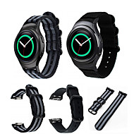 Недорогие Аксессуары для смарт-часов-Ремешок для часов для Gear S2 Samsung Galaxy Спортивный ремешок Нейлон Повязка на запястье