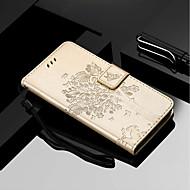 お買い得  携帯電話ケース-ケース 用途 Motorola MOTO G6 / Moto G6 Plus ウォレット / カードホルダー / スタンド付き フルボディーケース 猫 / 木 ハード PUレザー のために MOTO G6 / Moto G6 Plus / Moto E5 Plus