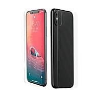Недорогие Защитные плёнки для экрана iPhone-Защитная плёнка для экрана для Apple iPhone XS Max Закаленное стекло 2 штs Защитная пленка для экрана и задней панели HD / Уровень защиты 9H / 2.5D закругленные углы