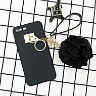 Недорогие Кейсы для iPhone 8 Plus-Кейс для Назначение Apple iPhone 7 Plus / iPhone 6s Своими руками Кейс на заднюю панель Однотонный Мягкий ТПУ для iPhone X / iPhone 8 Pluss / iPhone 8
