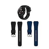 Недорогие Аксессуары для смарт-часов-Ремешок для часов для Huami Amazfit A1602 Huawei Спортивный ремешок силиконовый Повязка на запястье