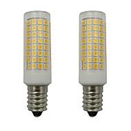 お買い得  LED コーン型電球-2pcs 5 W 460 lm E14 LEDコーン型電球 102 LEDビーズ SMD 2835 装飾用 温白色 / クールホワイト 110-130 V