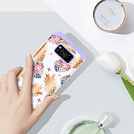 Недорогие Чехлы и кейсы для Galaxy S8 Plus-BENTOBEN Кейс для Назначение SSamsung Galaxy S8 Plus Защита от удара / С узором Кейс на заднюю панель Фрукты Твердый ПК / силикагель для S8 Plus