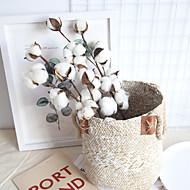 abordables Flores Artificiales-Flores Artificiales 1 Rama Clásico Rústico / Estilo Pastoral Flores eternas Flor de Mesa