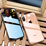 cheap iPhone XS Max Cases-Case For Apple iPhone 8 / iPhone XS Max Plating / Ultra-thin / Translucent Back Cover Solid Colored Soft TPU for iPhone XS / iPhone XR / iPhone XS Max
