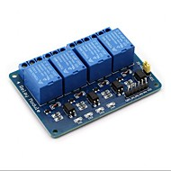 お買い得  Arduino 用アクセサリー-arduino raspberry pi dsp avr pic arm用4チャンネルDC 5Vリレーモジュール