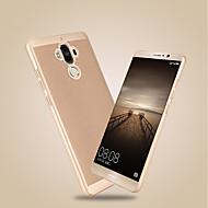 Недорогие Чехлы и кейсы для Huawei Honor-Кейс для Назначение Huawei Y9 (2018)(Enjoy 8 Plus) / Y7 Prime (2018) Ультратонкий Кейс на заднюю панель Однотонный Твердый ПК для Honor 9 / Honor 6A / Honor V9