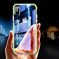 tok Για Apple iPhone XR / iPhone XS Max Ανθεκτική σε πτώσεις / Διαφανής Πίσω Κάλυμμα Μονόχρωμο Μαλακή TPU για iPhone XS / iPhone XR / iPhone XS Max