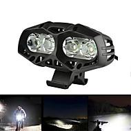 お買い得  フラッシュライト/ランタン/ライト-自転車用ヘッドライト LED 自転車用ライト サイクリング 防水 18650 1600 lm ホワイト キャンプ / ハイキング / ケイビング / サイクリング