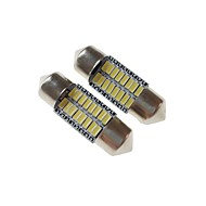 abordables Luces de Exterior para Coche-SENCART 2pcs 31mm Coche Bombillas 3 W SMD 3014 120-160 lm 16 LED Luces interiores / las luces exteriores Para