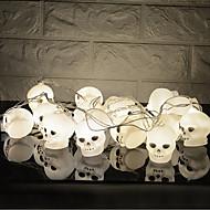 お買い得  -HKV 3M ストリングライト 16 LED ホワイト クリエイティブ / パーティー / 装飾用 単3乾電池 1個