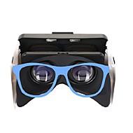 abordables Gafas de Realidad Virtual-Gafas 3D Azul Gafas de Realidad Virtual VR De Forma Cúbica Silicona