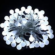 お買い得  -HKV 10m ストリングライト 100 LED 温白色 / クールホワイト / RGB パーティー / 装飾用 / ウェディング 220-240 V 1個