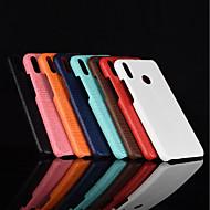 お買い得  携帯電話ケース-ケース 用途 Huawei Honor 10 / Honor V9 つや消し バックカバー ソリッド ハード PUレザー のために Huawei Honor 10 / Honor 9 / Huawei Honor 9 Lite