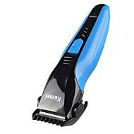 Недорогие Мелкая бытовая техника-Kemei Триммеры для волос для Муж. и жен. 220 V / 230 V Низкий шум / Карманный дизайн / Легкий и удобный