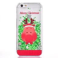 Недорогие Кейсы для iPhone 8 Plus-Кейс для Назначение Apple iPhone 8 / iPhone 8 Plus / iPhone 7 Сияние и блеск Кейс на заднюю панель Рождество Твердый пластик для iPhone 8 Pluss / iPhone 8 / iPhone 7 Plus