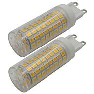 abordables Luces LED de Doble Pin-2pcs 5 W 460 lm G9 Luces LED de Doble Pin T 102 Cuentas LED SMD 2835 Blanco Cálido / Blanco Fresco 220-240 V
