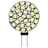 billiga -SENCART 1st 3 W LED-lampor med G-sockel 180 lm G4 T 30 LED-pärlor SMD 2835 Dekorativ Varmvit Vit 12 V