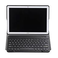 abordables Accesorios para Tableta-Funda Para Huawei MediaPad MediaPad M5 10 / Y5 II / Honor 5 con Teclado Funda de Cuerpo Entero Un Color Dura Cuero de PU para MediaPad M5 10