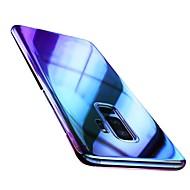 Недорогие Чехлы и кейсы для Galaxy S8 Plus-Кейс для Назначение SSamsung Galaxy S9 Plus / S9 Ультратонкий / Прозрачный Кейс на заднюю панель Градиент цвета Твердый ПК для S9 / S9 Plus / S8 Plus