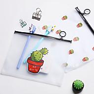 abordables Envases y estuches para bolígrafos-Plásticos Cuerpo transparente Casa Organización, 1 pieza Carpetas de Archivos