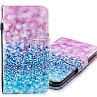 Недорогие Чехлы и кейсы для Galaxy А-Кейс для Назначение SSamsung Galaxy A8 2018 / А5 (2018) Кошелек / Бумажник для карт / со стендом Чехол Градиент цвета Твердый Кожа PU для A5(2018) / A5 (2017) / A8 2018