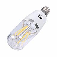 abordables Lámparas LED de Filamentos-YWXLIGHT® 1pc 4 W 300-400 lm E14 / E26 / E27 Bombillas de Filamento LED 4 Cuentas LED SMD Blanco Cálido / Blanco Fresco 85-265 V
