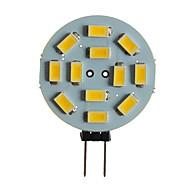 billiga -SENCART 1st 5 W LED-lampor med G-sockel 360 lm G4 MR11 T 12 LED-pärlor SMD 5630 Dekorativ Varmvit Vit 12 V