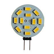 abordables Luces LED de Doble Pin-SENCART 1pc 5 W 360 lm G4 / MR11 Luces LED de Doble Pin T 12 Cuentas LED SMD 5630 Decorativa Blanco Cálido / Blanco 12 V
