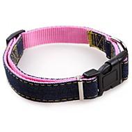 abordables Accesorios para Mascota-Perros / Gatos / Animales Pequeños de Pelo Cuello / Collares de Entrenamiento para Perros Impermeable / Portátil / Mini Un Color Nailon Azul / Rosa / Negro