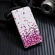 Недорогие Кейсы для iPhone 8-Кейс для Назначение Apple iPhone XS / iPhone XS Max Флип / С узором Чехол С сердцем Твердый Кожа PU для iPhone XS / iPhone XR / iPhone XS Max