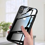 Недорогие Кейсы для iPhone 8-Кейс для Назначение Apple iPhone XS / iPhone XS Max Ультратонкий / Прозрачный Кейс на заднюю панель Однотонный Твердый Акрил для iPhone XS / iPhone XR / iPhone XS Max