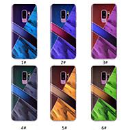 Недорогие Чехлы и кейсы для Galaxy S9 Plus-Кейс для Назначение SSamsung Galaxy S9 Plus / S9 С узором Кейс на заднюю панель Мрамор Мягкий ТПУ для S9 / S9 Plus