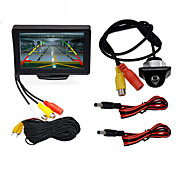 BYNCG WG4.3T-4LED 4.3 inch TFT-LCD 480TVL 480p 1/4 inch color CMOS Wired 120 Degree 1 pcs 120 ° 4.3 inch Rear View Camera / Car Reversing Monitor / Car Rear View Kit Waterproof / LED indicator