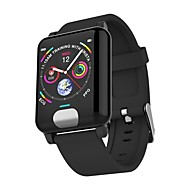 cheap -Indear E04 Smart Bracelet Smartwatch Android iOS Bluetooth Sports Waterproof Heart Rate Monitor Blood Pressure Measurement ECG+PPG Pedometer Call Reminder Sleep Tracker Sedentary Reminder / 120-150