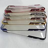 Недорогие Кейсы для iPhone 8-Кейс для Назначение Apple iPhone XS / iPhone XS Max Покрытие / Прозрачный Кейс на заднюю панель Однотонный Мягкий ТПУ для iPhone XS / iPhone XR / iPhone XS Max