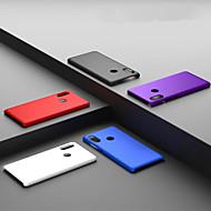 お買い得  携帯電話ケース-ケース 用途 Xiaomi Xiaomi Redmi 6 Pro / Redmi S2 つや消し バックカバー ソリッド ハード PC のために Xiaomi Redmi Note 5 Pro / Xiaomi Redmi Note 6 / Xiaomi Redmi 6 Pro