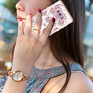 Недорогие Чехлы и кейсы для Galaxy Note-BENTOBEN Кейс для Назначение SSamsung Galaxy Note 9 Защита от удара / С узором / Wireless Charging Receiver Case Чехол Фрукты / Мрамор Твердый ТПУ / ПК для Note 9