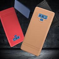 Недорогие Чехлы и кейсы для Galaxy Note 8-Кейс для Назначение SSamsung Galaxy Note 9 / Note 8 Матовое Кейс на заднюю панель Однотонный Мягкий ТПУ для Note 9 / Note 8