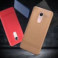 お買い得  携帯電話ケース-ケース 用途 Xiaomi Redmi Note 5 Pro / Redmi 6 つや消し バックカバー ソリッド ソフト TPU のために Redmi Note 5A / Xiaomi Redmi Note 4X / Redmi 6A