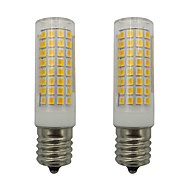 お買い得  LED コーン型電球-2pcs 5 W 460 lm E17 LEDコーン型電球 102 LEDビーズ SMD 2835 温白色 / クールホワイト 220-240 V