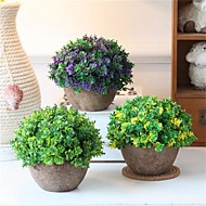 cheap -Artificial Flowers 1 Branch Classic / Single Rustic / Retro Plants / Vase Tabletop Flower