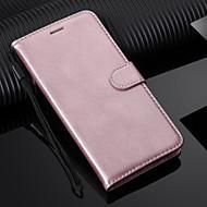Capinha Para Apple iPhone XS / iPhone XS Max Carteira / Porta-Cartão / Com Suporte Capa Proteção Completa Sólido Rígida PU Leather para iPhone XS / iPhone XR / iPhone XS Max