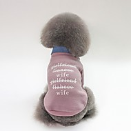 abordables -Chiens Manteaux Vêtements pour Chien Personnage / Slogan Fuchsia / Vert / Rose Pluche Costume Pour les animaux domestiques Unisexe Décontracté / Quotidien / Guêtres