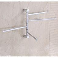 abordables Gadgets de Baño-Barra para Toalla Moderno Aluminio 1 pieza - Baño del hotel Barra de 4 toallas