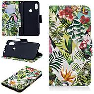 preiswerte Handyhüllen-Hülle Für Xiaomi Redmi Note 5 Pro / Xiaomi Redmi Note 6 Geldbeutel / Kreditkartenfächer / mit Halterung Ganzkörper-Gehäuse Baum Hart PU-Leder für Redmi Note 5A / Xiaomi Redmi Note 5 Pro / Xiaomi