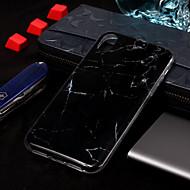 Недорогие Кейсы для iPhone 8-Кейс для Назначение Apple iPhone XS / iPhone XS Max IMD / С узором Кейс на заднюю панель Мрамор Мягкий ТПУ для iPhone XS / iPhone XR / iPhone XS Max