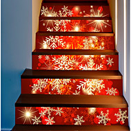 cheap -Decorative Wall Stickers - Holiday Wall Stickers Christmas Decorations Outdoor / Office