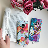 Case For Samsung Galaxy S9 Plus / S9 Frosted / Pattern Back Cover Marble Hard PC for S9 / S9 Plus / S8 Plus